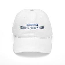 Proud to be a Closed Baseball Caption Baseball Cap