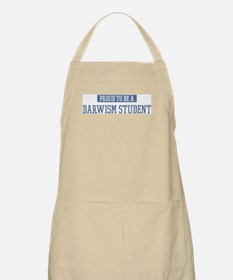 Proud to be a Darwism Student BBQ Apron