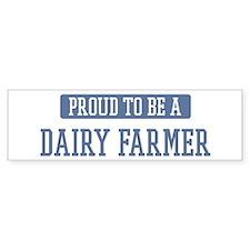 Proud to be a Dairy Farmer Bumper Sticker (50 pk)