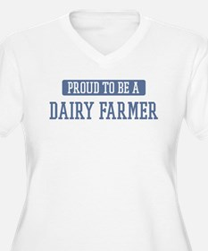 Proud to be a Dairy Farmer T-Shirt