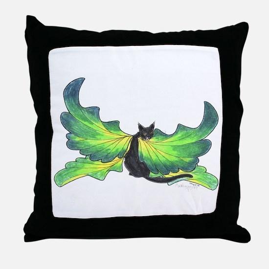 Cool Faery Throw Pillow