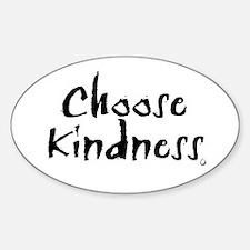 Oval Sticker- Choose Kindness