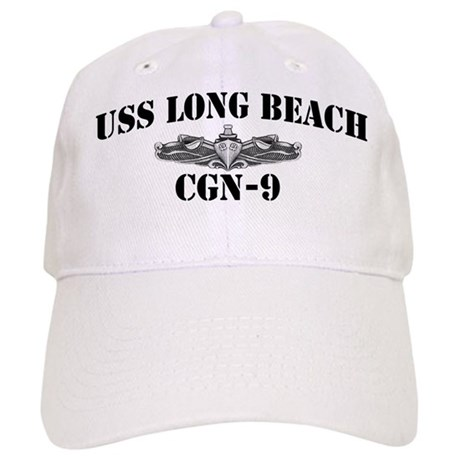 USS LONG BEACH Cap