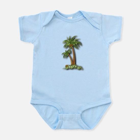 Twin palms Infant Bodysuit