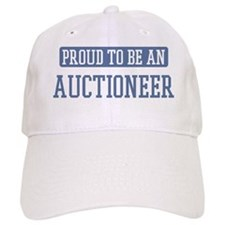Proud to be a Auctioneer Baseball Cap
