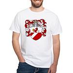 Backer Family Crest White T-Shirt