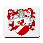 Backer Family Crest Mousepad