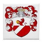 Backer Family Crest Tile Coaster