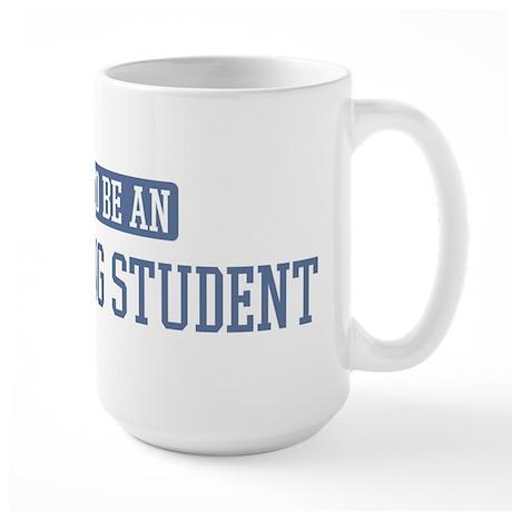 Proud to be a Advertising Stu Large Mug