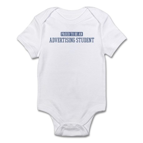 Proud to be a Advertising Stu Infant Bodysuit