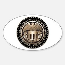 The Federal Reserve Oval Decal
