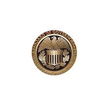 The Federal Reserve Mini Button