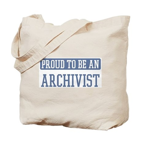 Proud to be a Archivist Tote Bag