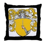 Berenson Family Crest Throw Pillow