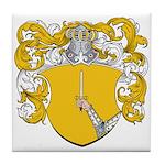 Berenson Family Crest Tile Coaster
