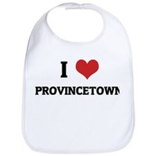 I Love Provincetown Bib