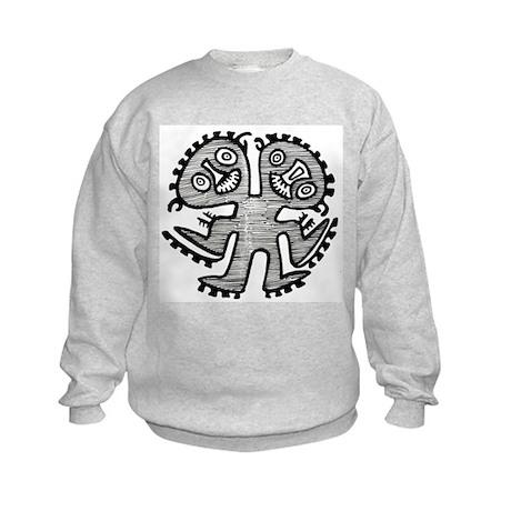Two Headed Creature Kids Sweatshirt