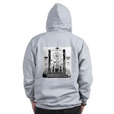 Masonic Zip Hoody