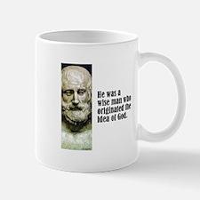 "Euripides ""Idea of God"" Mug"