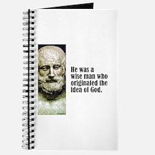 "Euripides ""Idea of God"" Journal"