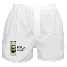 """Euripides """"Idea of God"""" Boxer Shorts"""
