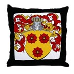 Billerbeck Family Crest Throw Pillow