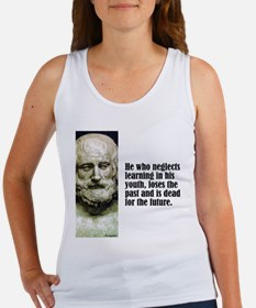 """Euripides """"Learning"""" Women's Tank Top"""