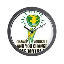 Change Yourself and You Chang Wall Clock