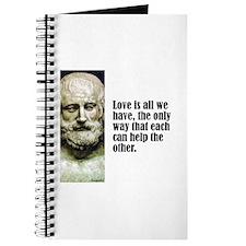"Euripides ""Love"" Journal"