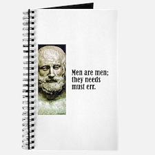 "Euripides ""Men Are Men"" Journal"