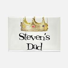 Steven's Dad Rectangle Magnet