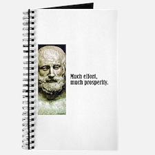 """Euripides """"Much Effort"""" Journal"""