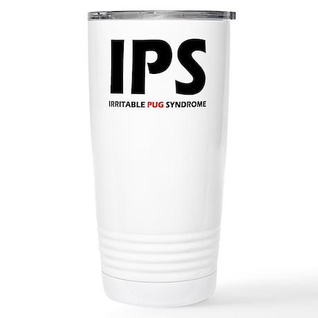 Irritable Pug Stainless Steel Travel Mug