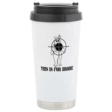 Kill the Easter Bunny Stainless Steel Travel Mug