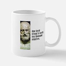 "Euripides ""Loyal Friend"" Mug"