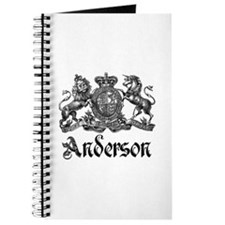 Anderson Vintage Crest Family Name Journal