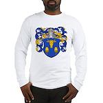 Blau Family Crest Long Sleeve T-Shirt