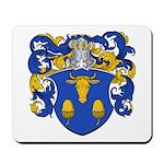 Blau Family Crest Mousepad