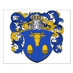 Blau Family Crest Small Poster