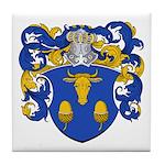 Blau Family Crest Tile Coaster