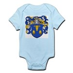 Blau Family Crest Infant Creeper