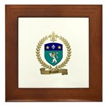 MASSARD Family Crest Framed Tile