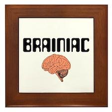 Brainiac Framed Tile