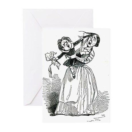 Mother with Brat Greeting Cards (Pk of 10)
