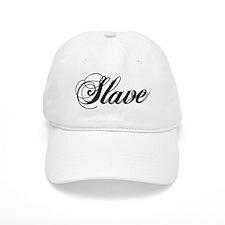 Slave V1 - White Baseball Cap