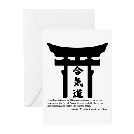 Torii 1 Greeting Cards (Pk of 10)