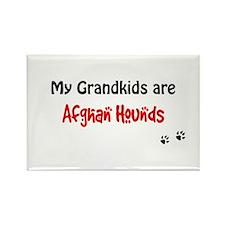 Afghan Grandkids Rectangle Magnet