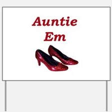 Cute Auntie to be Yard Sign