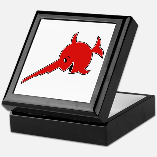 9th Flotilla RED Keepsake Box