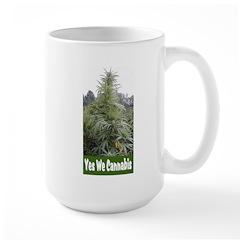 Yes We Cannabis Large Mug